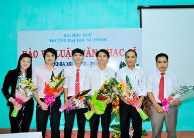 Trương Trung Phương bảo vệ thành công luận văn Thạc sĩ năm 2014